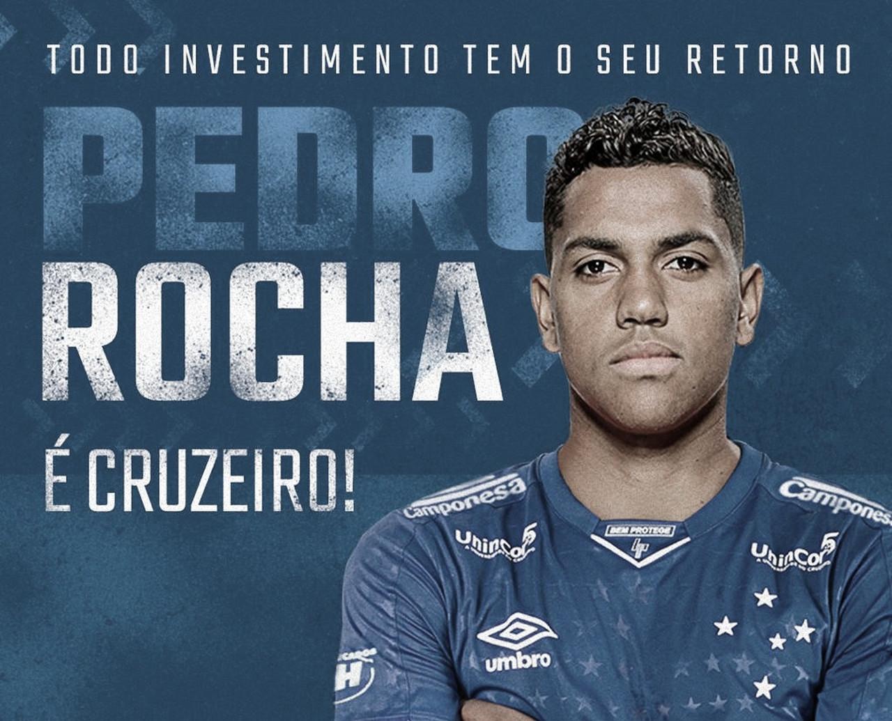 Cruzeiro fecha contratação de atacante Pedro Rocha, ex-Grêmio