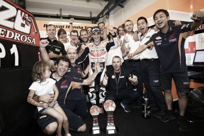 Pedrosa didn't expect to be so fast at the San Marino GP