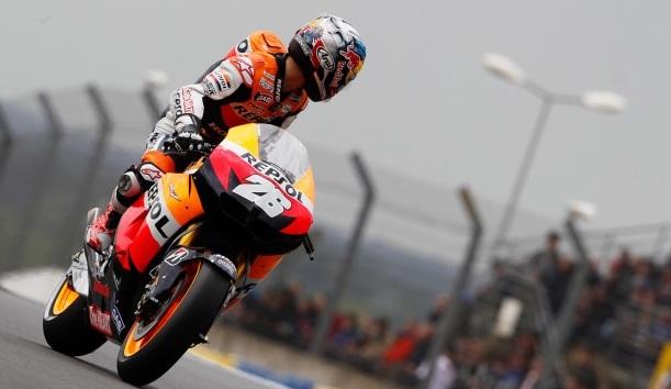 Dani Pedrosa saldrá desde la pole en Le Mans