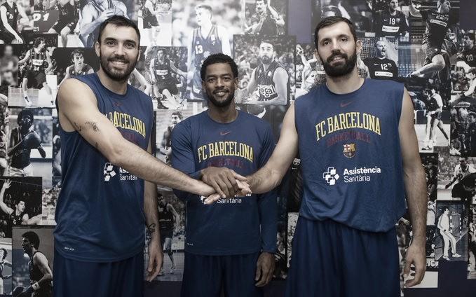 Oriola, Mirotic y Higgins, los capitanes del Barça de Basket 2021-2022