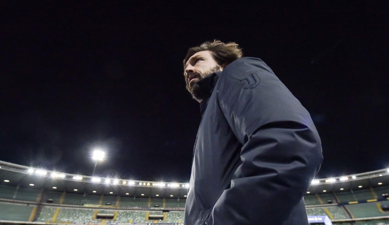 Após empate com Hellas Verona, Pirlo admite: ''Falta experiência''