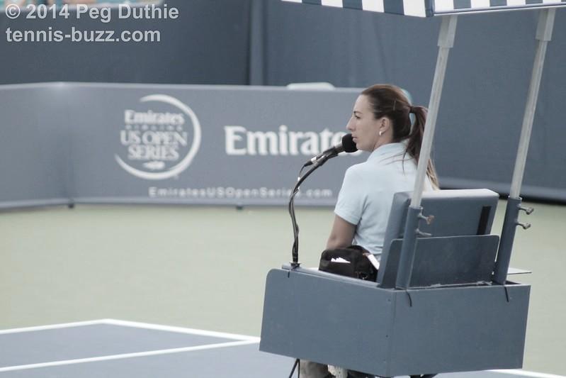 """Paula Vieira: """"Quiero demostrar que puedes tener un hijo y continuar esta increíble carrera de ser un árbitro de tenis"""""""