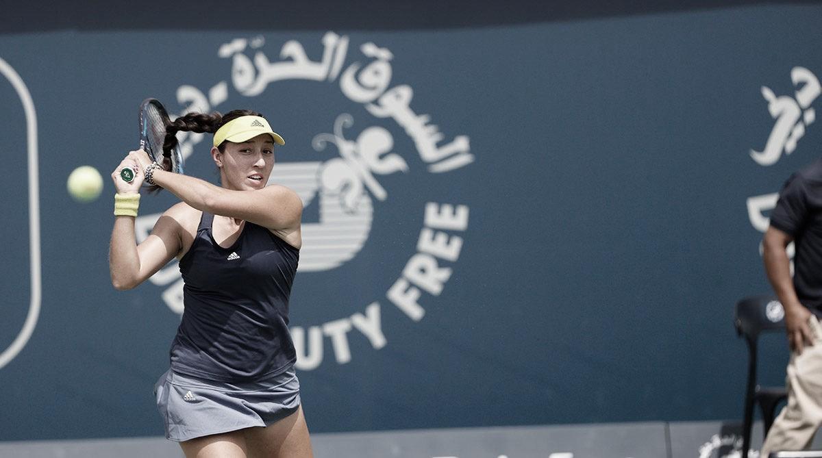 Pegula atropela Pliskova pela segunda semana seguida e segue em Dubai; Kuznetsova e Bencic caem