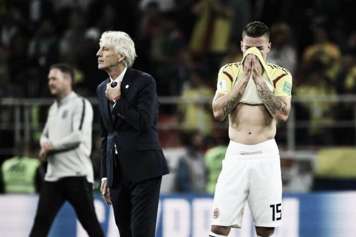 """Após eliminação da Colômbia, Pekerman lamenta: """"Merecíamos a classificação"""