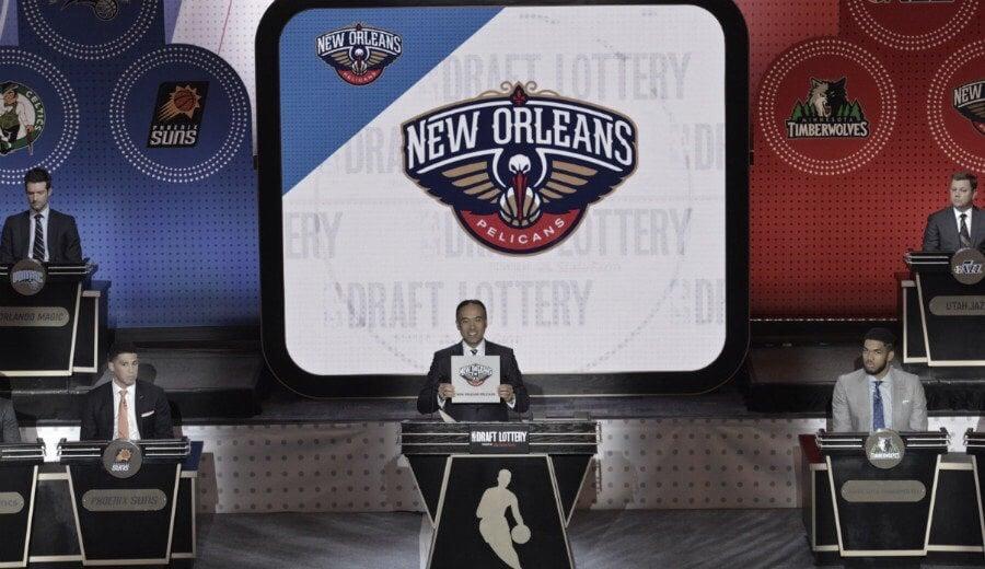 Pelicans elegirán primero en el draft