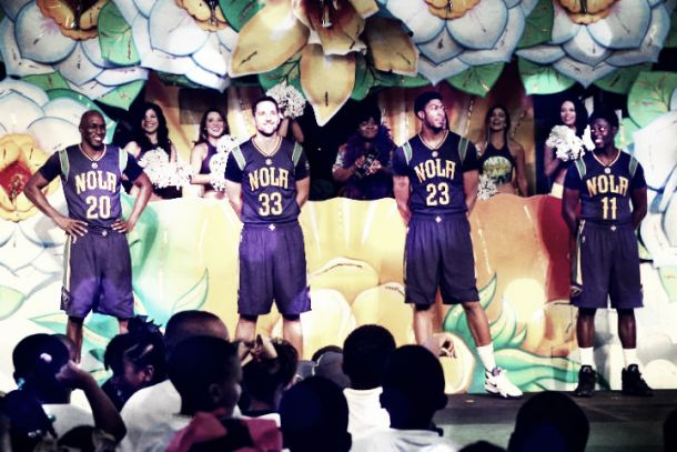 Los nuevos uniformes adelantan el carnaval en los New Orleans Pelicans
