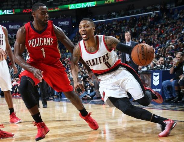 NBA Saison Ru00e9guliu00e8re 2014/2015  Portland Blazers Vs New Orleans Pelicans - SCOREUR DE MARS