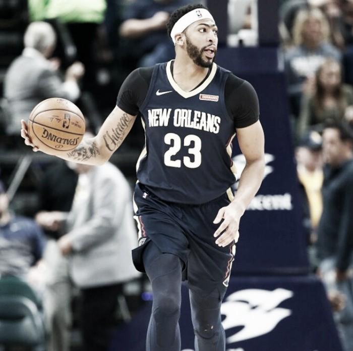 Triunfo de Pelicans sobre Pacers