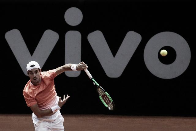 Pella domina Trungelitti em duelo argentino nas quartas do Brasil Open