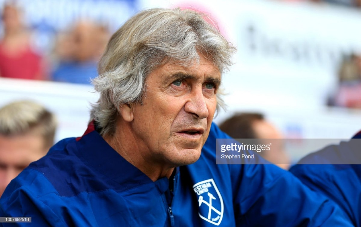 Manuel Pellegrini: There are a lot of players who are not 100%