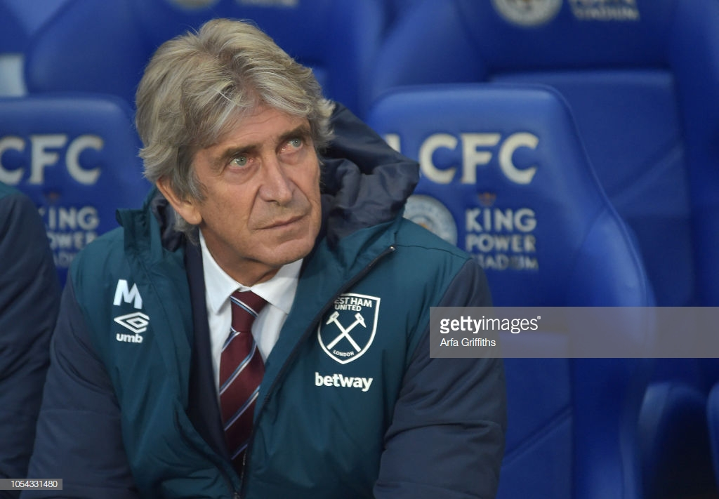 Manuel Pellegrini pleased with West Ham's desire in draw with Leicester