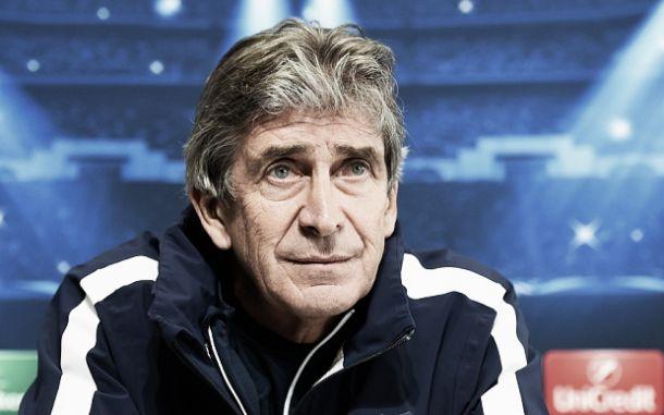 """Champions League, Pellegrini: """"La Juventus è forte. Agüero non recupera per domani"""""""