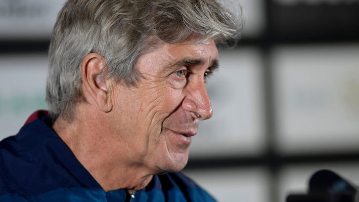 Manuel Pellegrini refuses to get carried away following  Hammers superb run of form