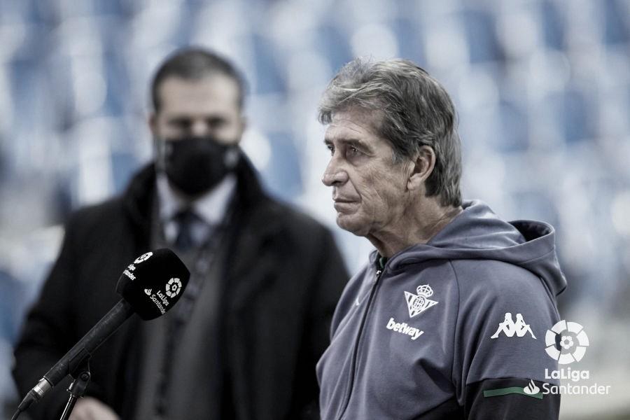 """Pellegrini: """"Queremos llevar al equipo a Europa y jugar con los hinchas en el estadio apoyándonos"""""""