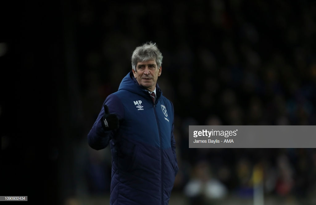 "Manuel Pellegrini believes ""it was impossible to play worse"" following the Hammers third successive defeat"