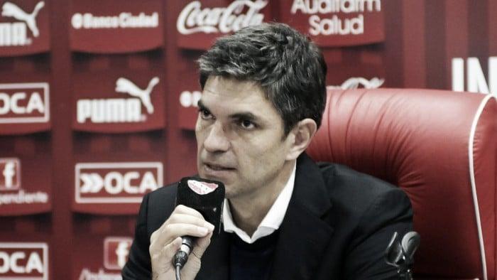 """Pellegrino: """"En estos momentos se tiene que ver la capacidad del club para salir adelante"""""""