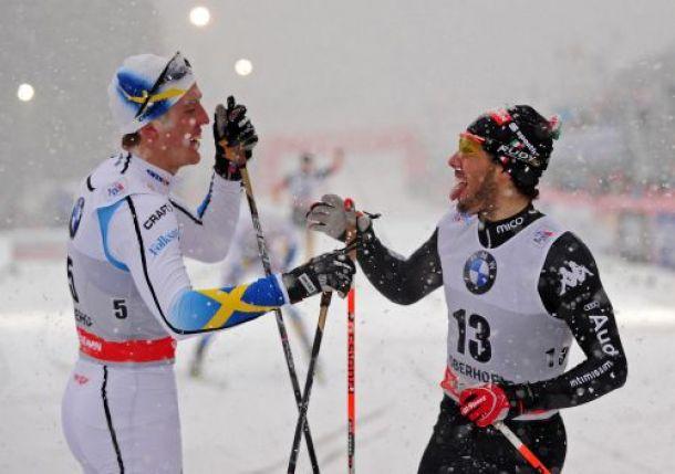 Sci di fondo, Tour de Ski: Pellegrino splendido secondo