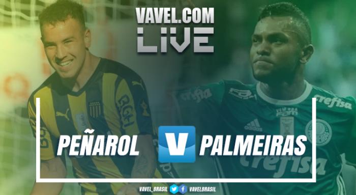 Jogo Peñarol x Palmeiras AO VIVO agora pela Copa Libertadores (1-0)