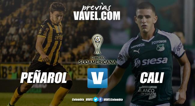 Previa Peñarol vs Deportivo Cali: duelo definitivo en la Sudamericana