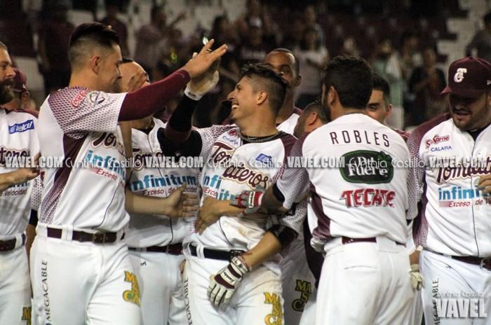 Ramiro Peña deja tendidos a Mayos con palo de vuelta entera