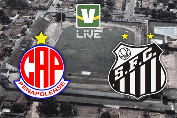 Penapolense x Santos, Campeonato Paulista