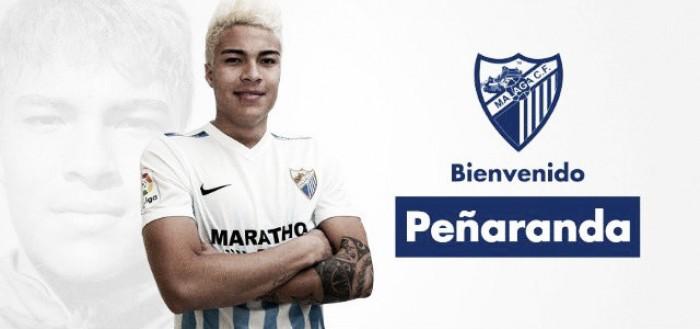 Peñaranda es nuevo jugador del Málaga CF