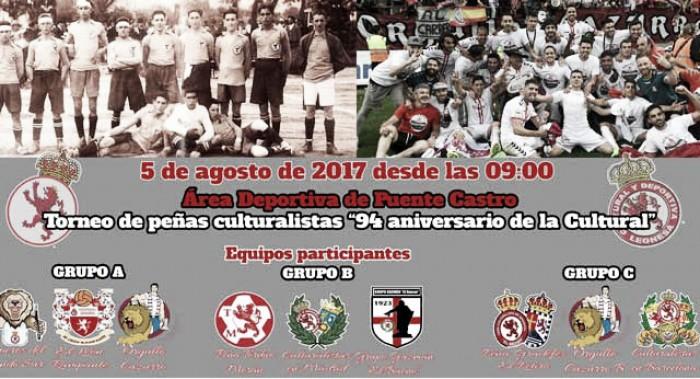 Las Peñas de la Cultural celebran el 94 aniversario del club