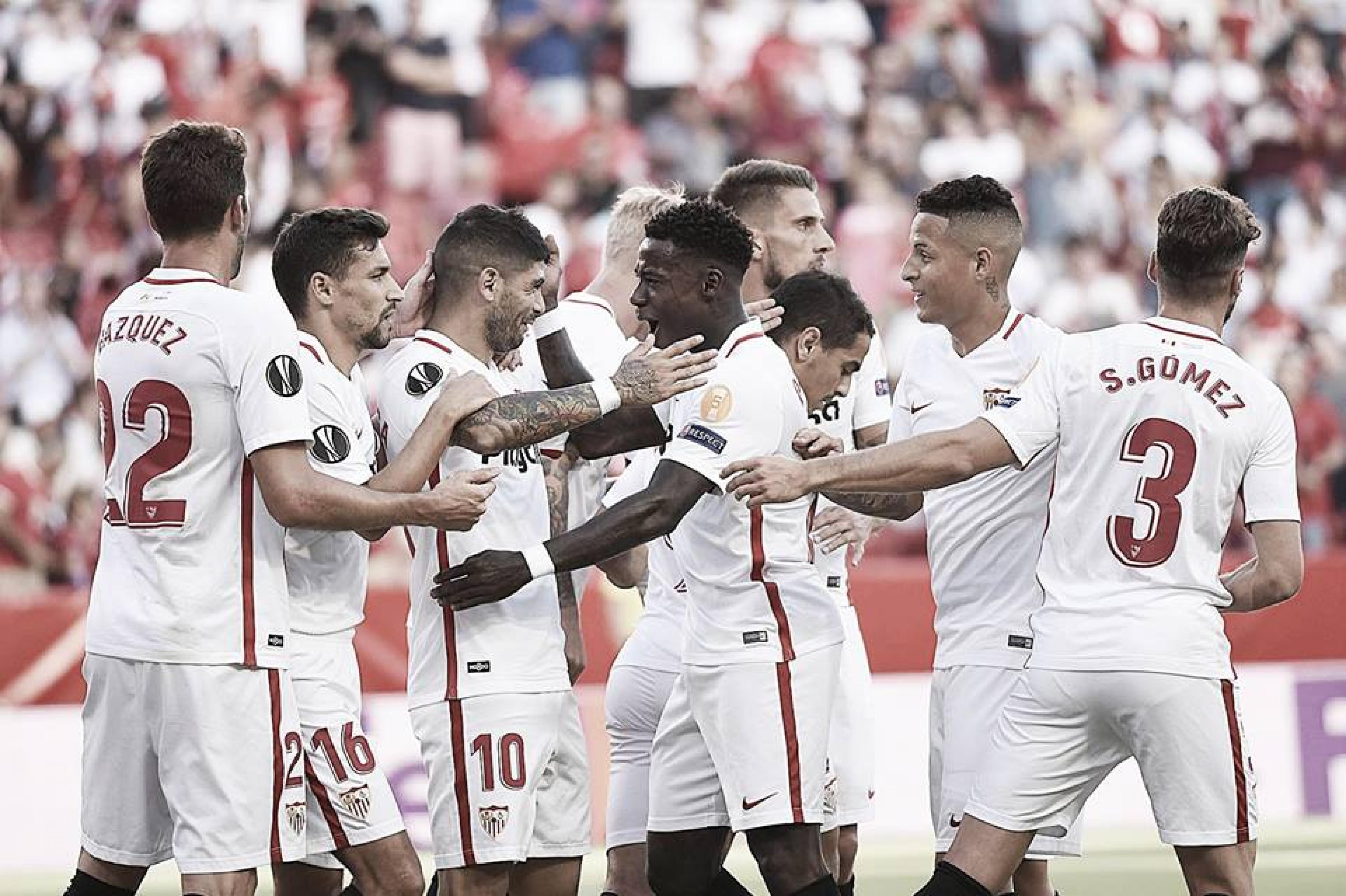 Sevilla FC - Standard Lieja: puntuaciones, jornada 1 UEFA Europa League