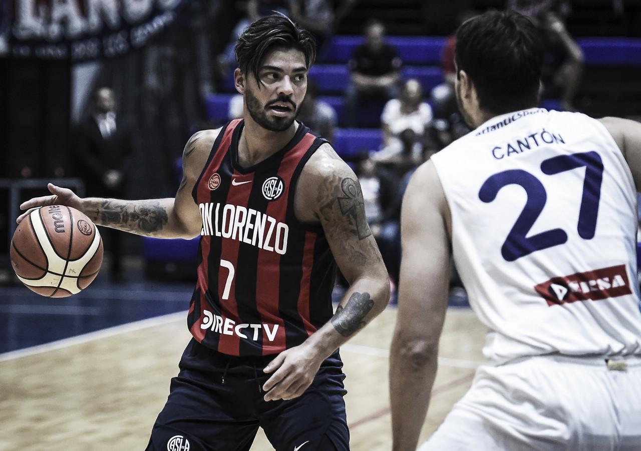 Liga Nacional: San Lorenzo sigue a paso firme