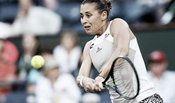 WTA Marrakech, fuori Pennetta e Knapp