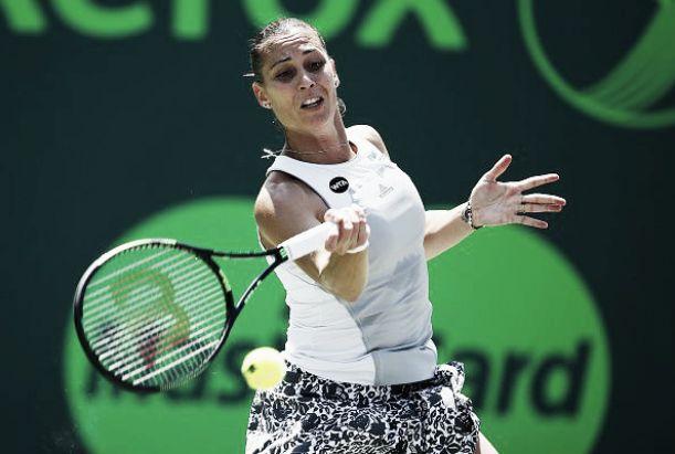 WTA Marrakech: Pennetta con fatica, alla Knapp il derby azzurro