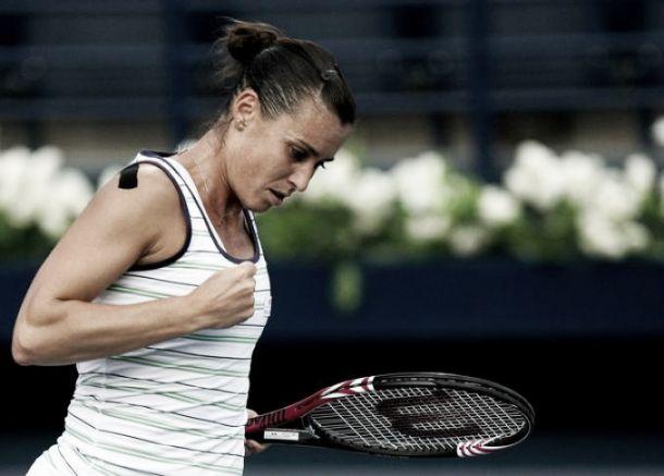 WTA Marrakech, tris azzurro: avanti Pennetta, Vinci e Knapp