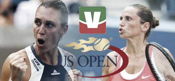 Live Pennetta Vs Vinci, finale femminile Us Open 2015  (2-0)