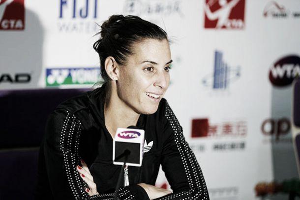 "Flavia Pennetta: ""Debo concentrarme en este torneo para llegar a Singapur"""