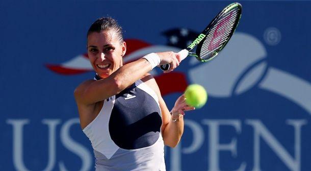 US Open 2015, il giorno di Flavia Pennetta