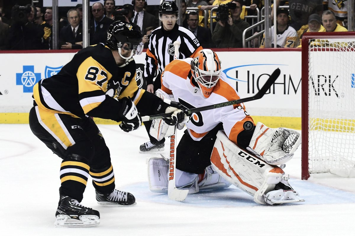 Philadelphia Flyers delay Pittsburgh Penguins celebration by taking Game 5