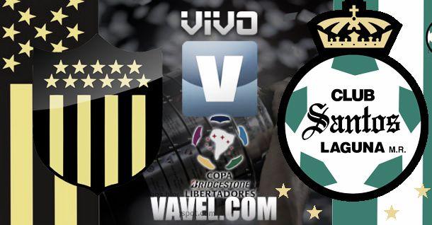 Resultado Peñarol - Santos Laguna por la Copa Libertadores 2014 (0-2)