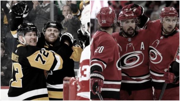 Hurricanes, Penguins y Avalanche con billete para los playoffs