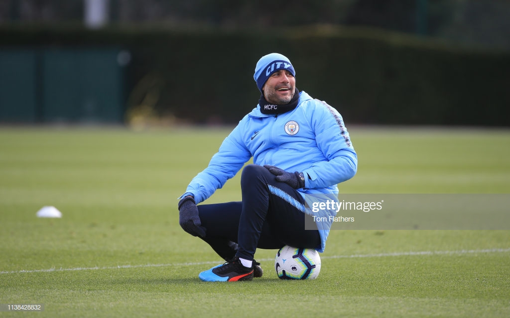 Guardiola hints at business as usual as City begin final straight with trip to Fulham