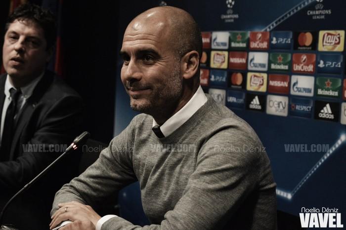 "Pep Guardiola: ""No llamé a ningún jugador del Barça en verano"""