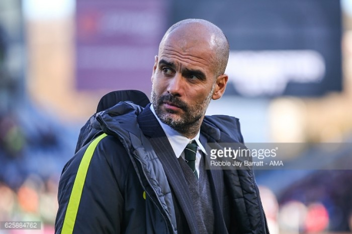 Guardiola praises City after grueling fixture schedule