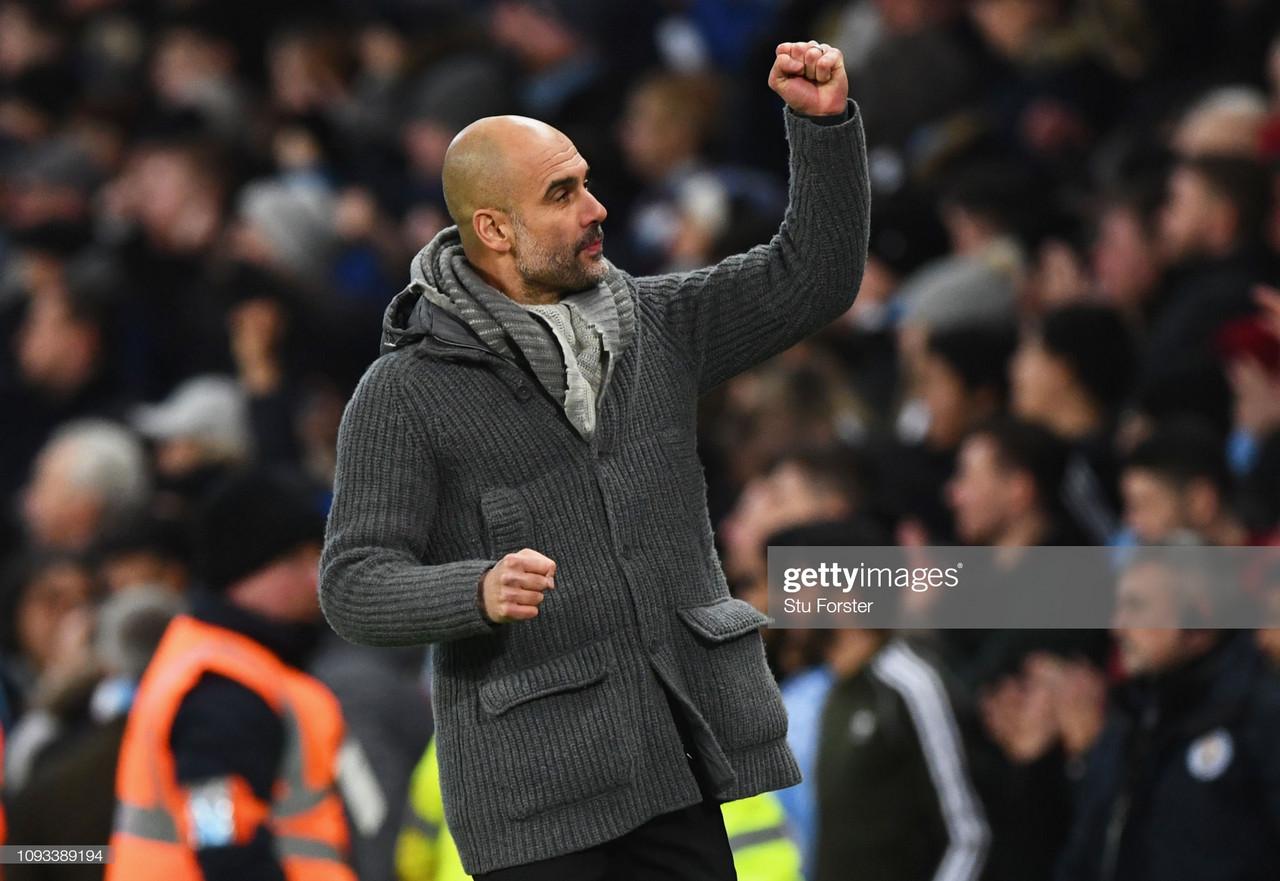 Manchester City 6-0 Watford: Scintillating City demolish Watford to wrap-up domestic treble in record-equalling win