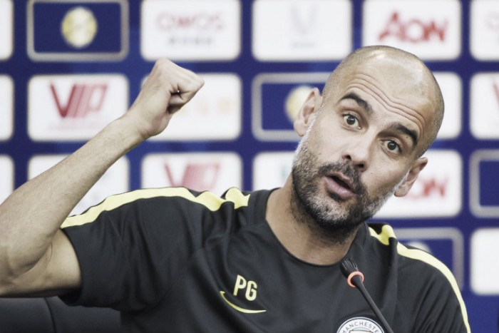 "Pep Guardiola insists City are ""ready for the Champions League"""
