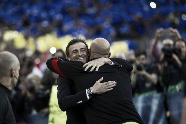 """Luis Enrique gongola: """"Dobbiamo essere felici di quanto fatto. Pensiamo a martedì"""""""