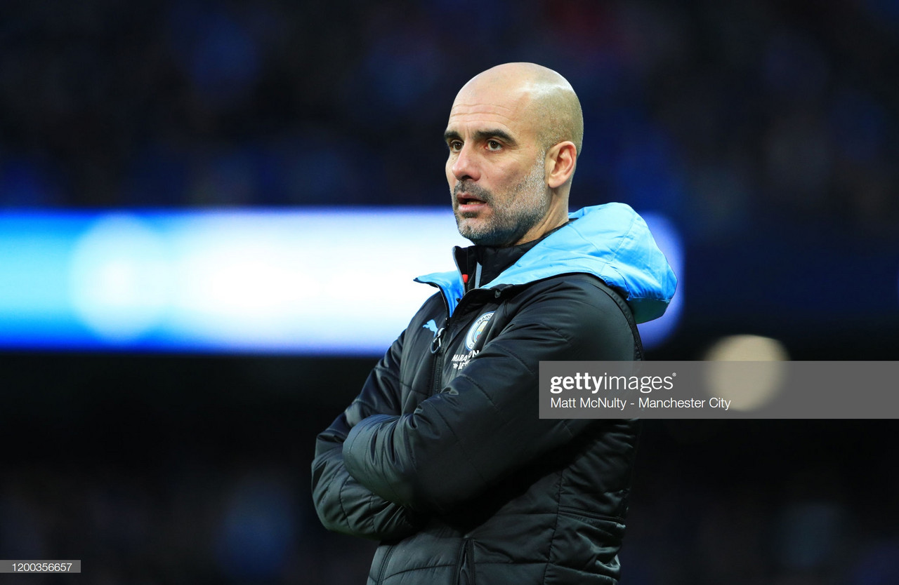 Pep Guardiola looks ahead to FA Cup clash with Fulham