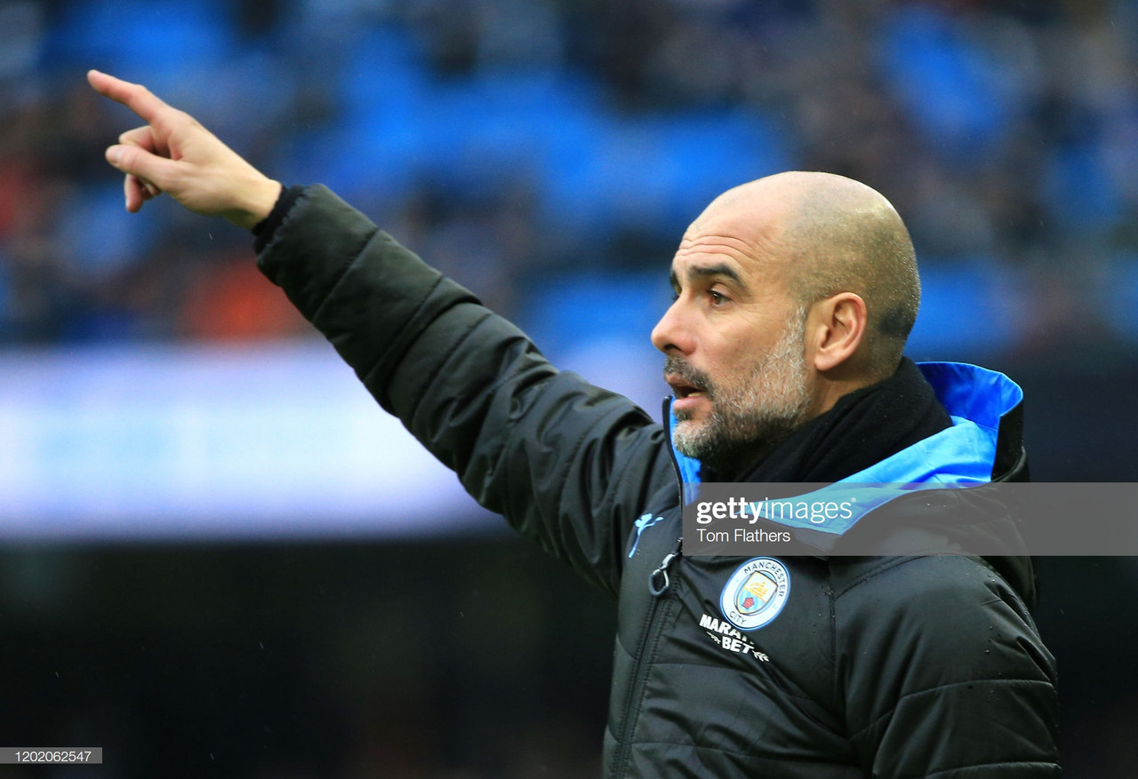 Pep Guardiola gives his thoughts on Fulham victory