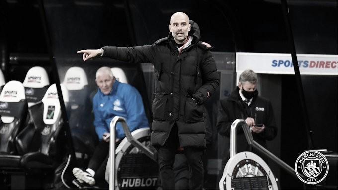 """""""Sofremos, mas foi um jogo fantástico"""", diz Guardiola após 4 a 3 sobre o Newcastle"""