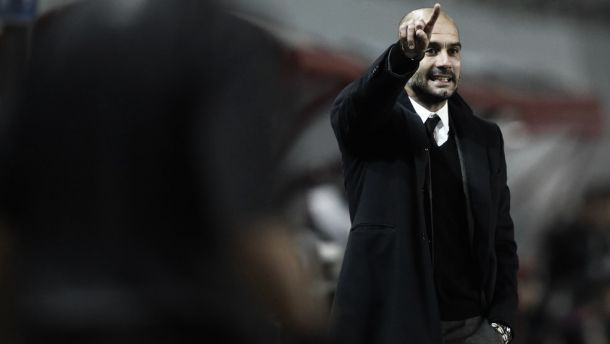 """Pep Guardiola: """"Es un buen resultado"""""""