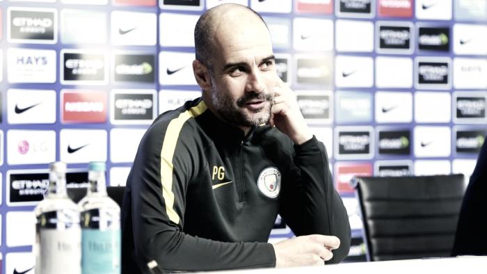 """Guardiola: """"Leroy está mejor pero no a punto, Gabriel podría volver pronto"""""""