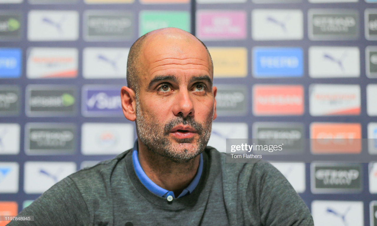 Pep Guardiola looks ahead to Carabao Cup Semi Final vs Manchester United